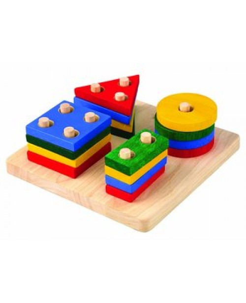 Geometric Sorting Board by Plan Toys