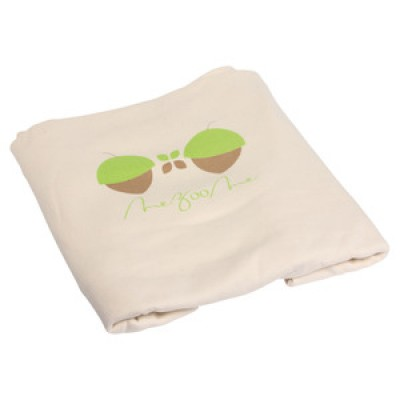 Organic Acorn Fitted Sheet