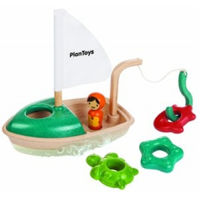 Activity Boat by Plan Toys