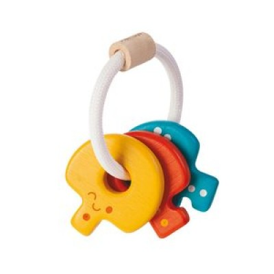 Baby Keys Rattle by Plan Toys