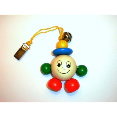 Wooden Bo Jangles Clip Toy