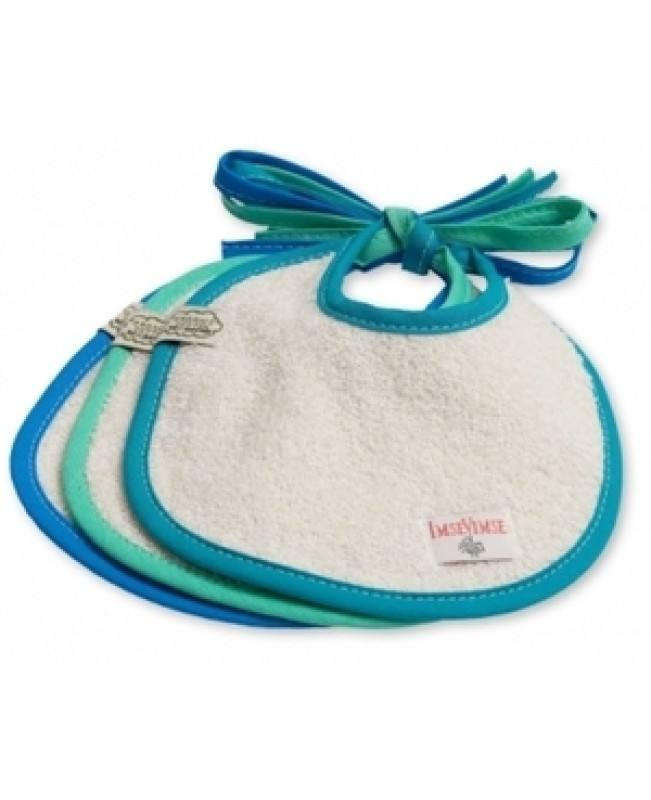 Baby Dribble Bibs, (Ocean) Set of 3