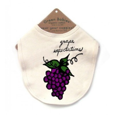 Bib - Grape Expectations by Green Babies