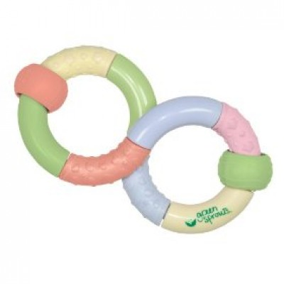 Infinity Teether Rattle Toy