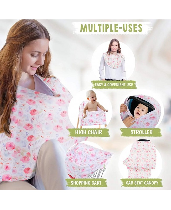 All-in-One Multi Use Cover - Dainty Bloom