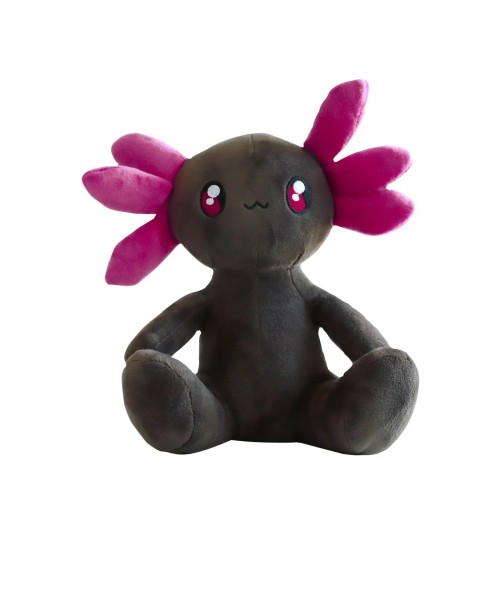 Axol the Axolotl - Black & Purple