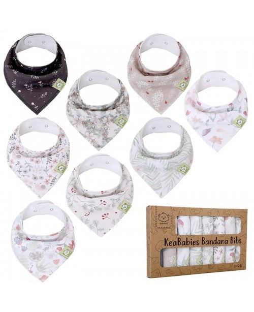 Bandana Bibs - Organic Set of 8 - Bloom