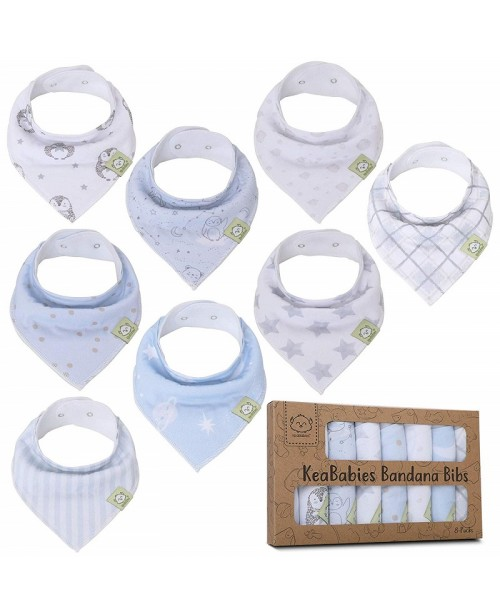 Bandana Bibs - Organic Set of 8 - Constellation
