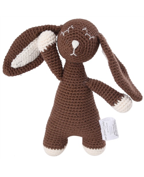Bunny Toy - Organic - Brown