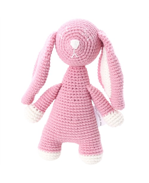 Bunny Toy - Organic - Pink