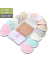 Soft Bamboo Nursing Pads XL - 14 Pack