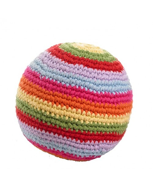 Rainbow Rattle Ball