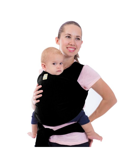 Baby Wrap Carrier - Trendy Black