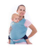 Baby Wrap Carrier - Baby Blue
