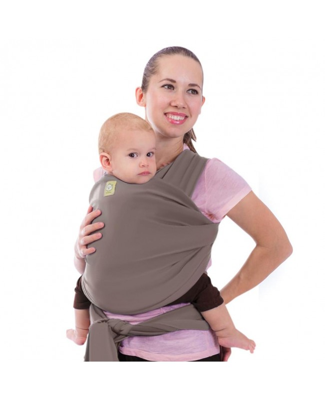 Baby Wrap Carrier - Copper Gray