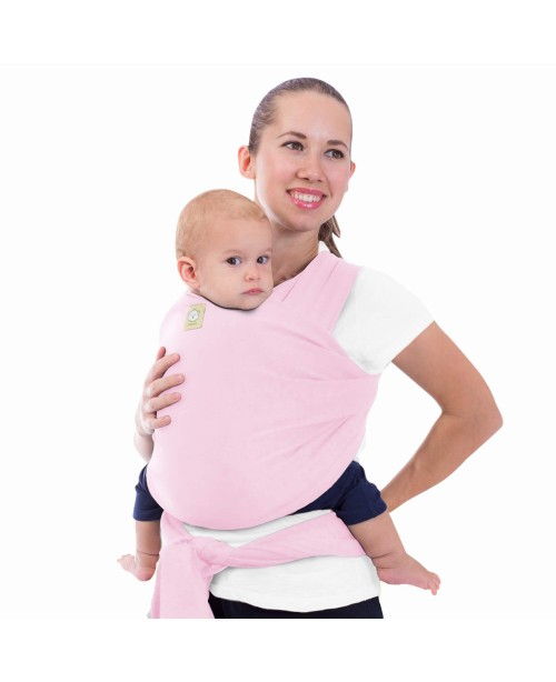 Baby Wrap Carrier - Sweet Pink