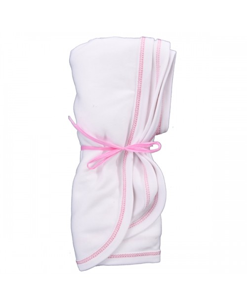 Swaddle Blanket - Organic Pink