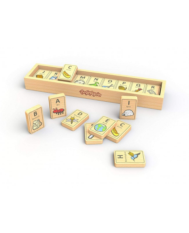 Alphabet and Object Learning Tiles