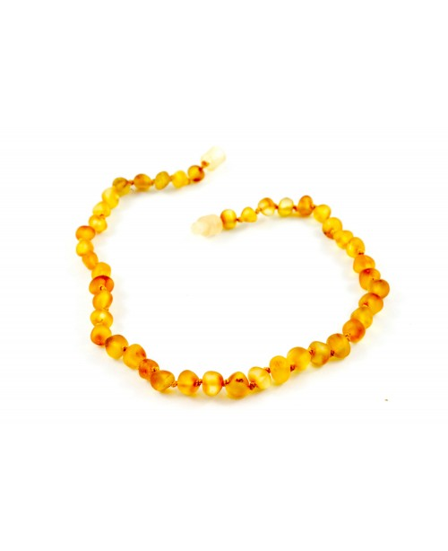 Baltic Amber Baby Necklace - Raw Honey