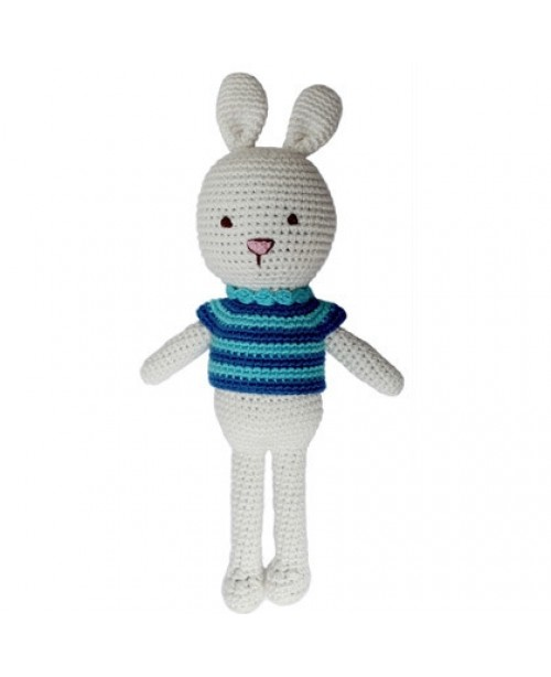 Bunny Handmade Organic Doll Tommy the Rabbit
