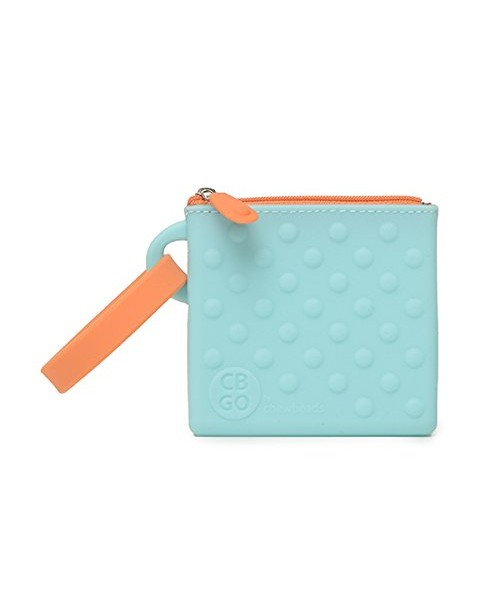 CB GO Small Silicone Pouch, Turquoise