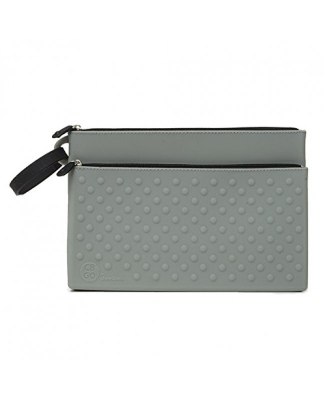CB GO Wipes Silicone Clutch, Grey