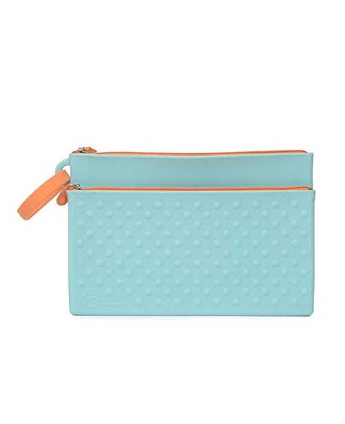 CB GO Wipes Silicone Clutch, Turquoise