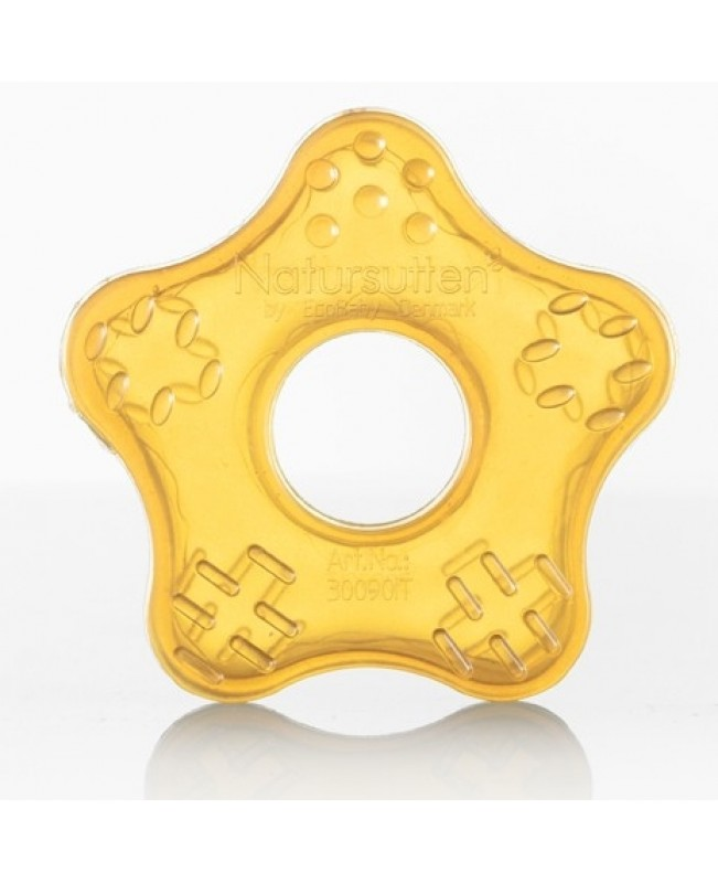 Natursutten Natural Rubber Star Teether