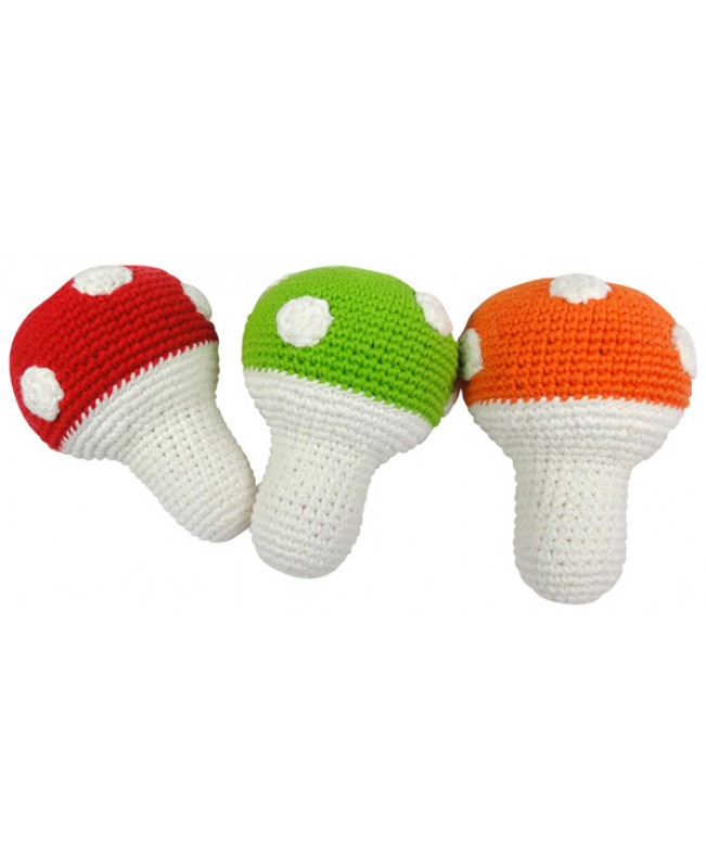 Toad Stool Rattle
