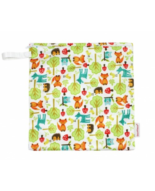 Washable Wet Bag - Forest Animals